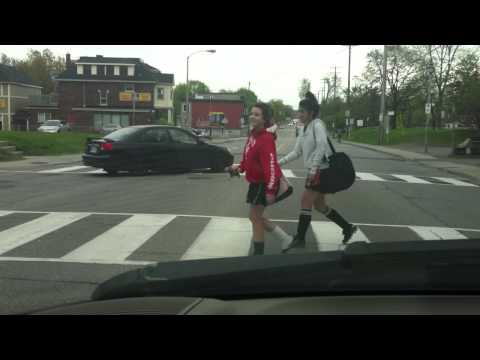 Driving back home in Ottawa