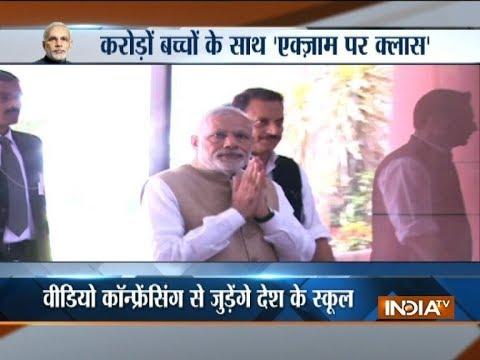 PM Modi to speak to students today on exam stress in Delhi