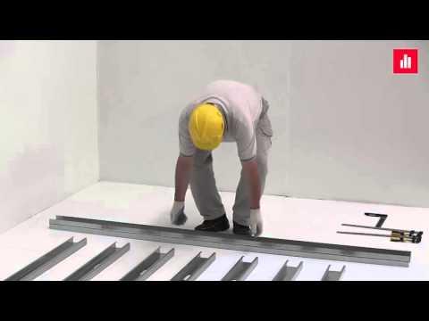 """1 - """"Steel-Frame Gaúcho"""" & """"BARBIERI"""" - Montando uma parede simples"""