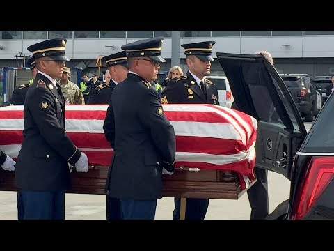 Remains of U.S. soldier killed in Korean War returns to Bay Area