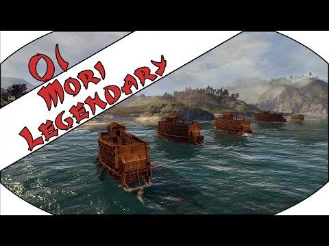 OFF TO FLYING START - Mori (Legendary) - Total War: Shogun 2 - Ep.01!