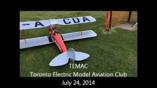 Hangar 9 quarter scale Tiger Moth   electric power