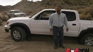 2002 Toyota Tacoma TRD 2WD with Locker vs. 4WD - 4x4TV Tests