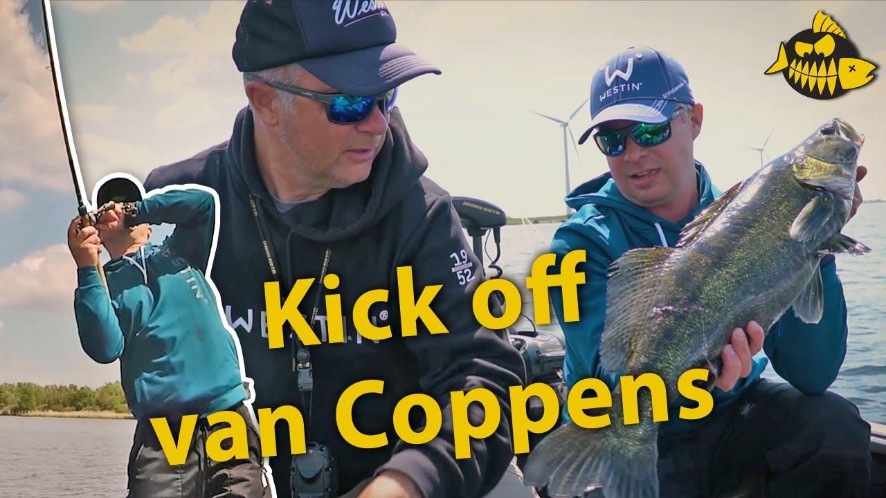 De kick off van Luc Coppens – Op snoek en snoekbaars op het Volkerak