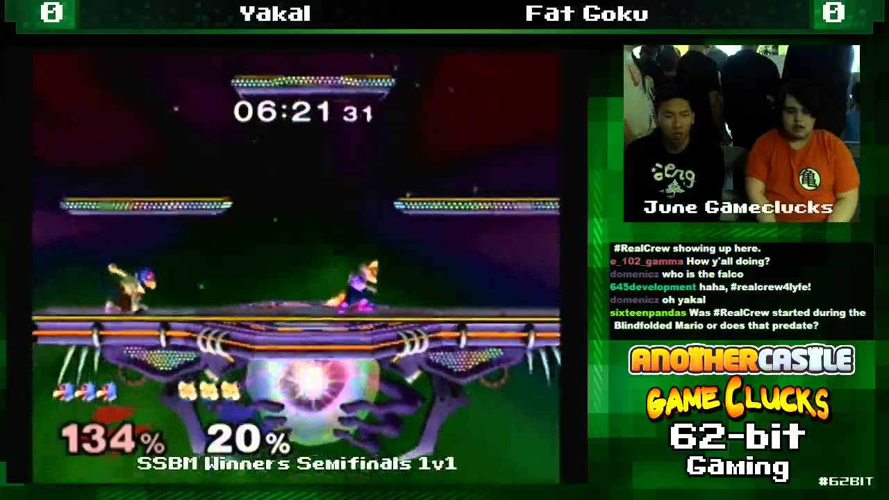 Ssbm 1v1 Mike Falco Vs Fat Goku Fox June Gameclucks Pro Bracket