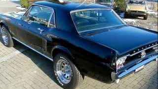 Ford Mustang J-Code 302 V8 in Ravenblack ... Video I