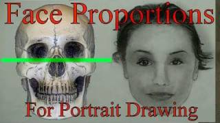 Part1: Face Proportions For Portrait Drawing: The Ultimate Guide