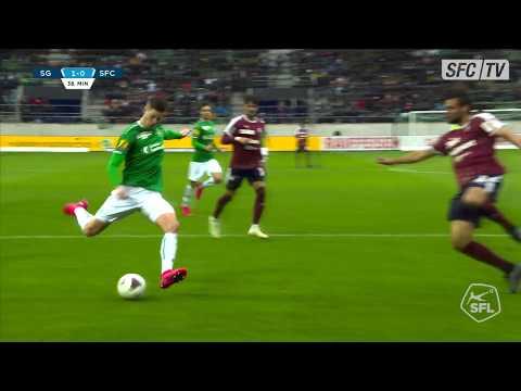 Highlights: FC Saint-Gall - Servette FC 09.02.2020