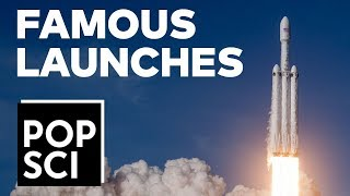 24 Of The Most Famous Space Launches Ever