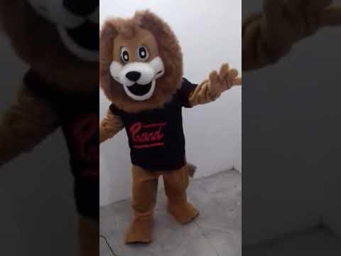 Fantasia Mascote Leão Proerd