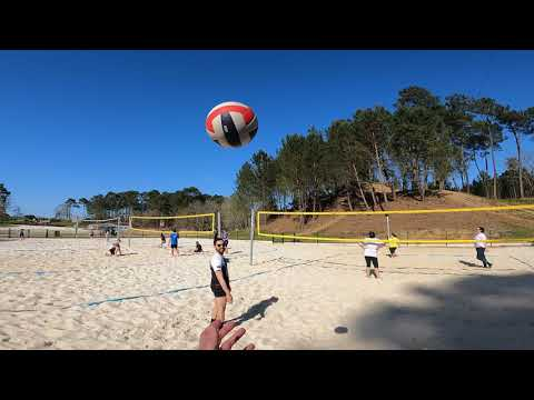 Séance de Beach Volley