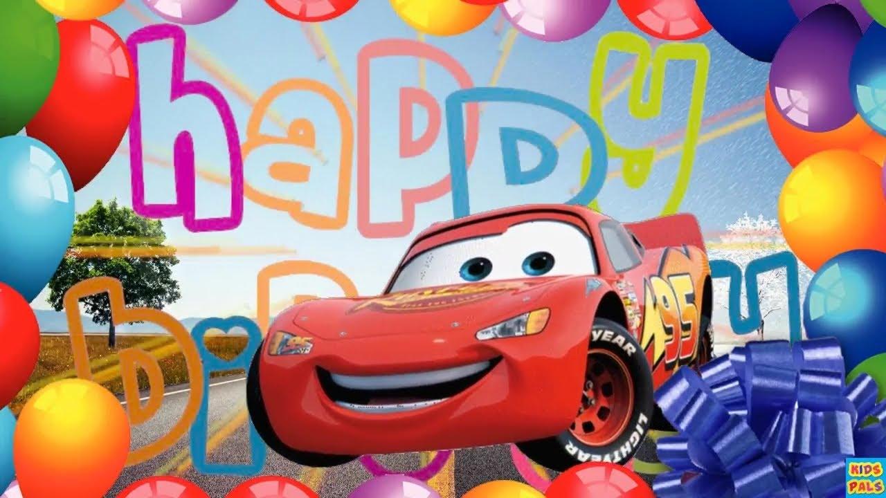Disney Pixar Cars Happy Birthday Song Happy Birthday Song Youtube