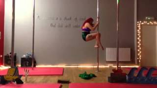 Mandy bradley - yorkshire pole dancing competition - advanced