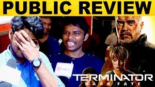 Terminator : Dark Fate Movie Public Review | Arnold Schwarzenegger