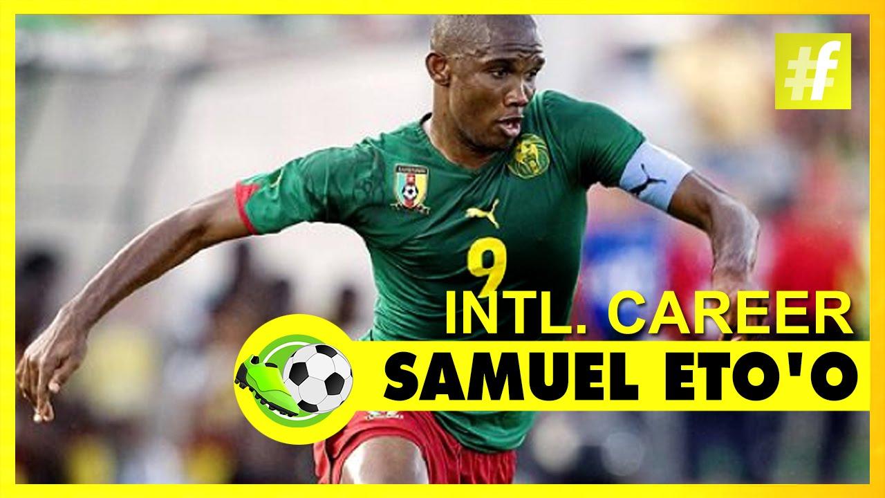 Samuel Eto o International Career