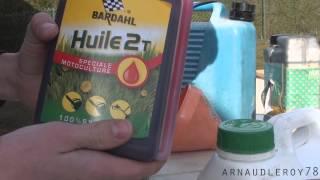 •Comment faire son mélange 2T ?