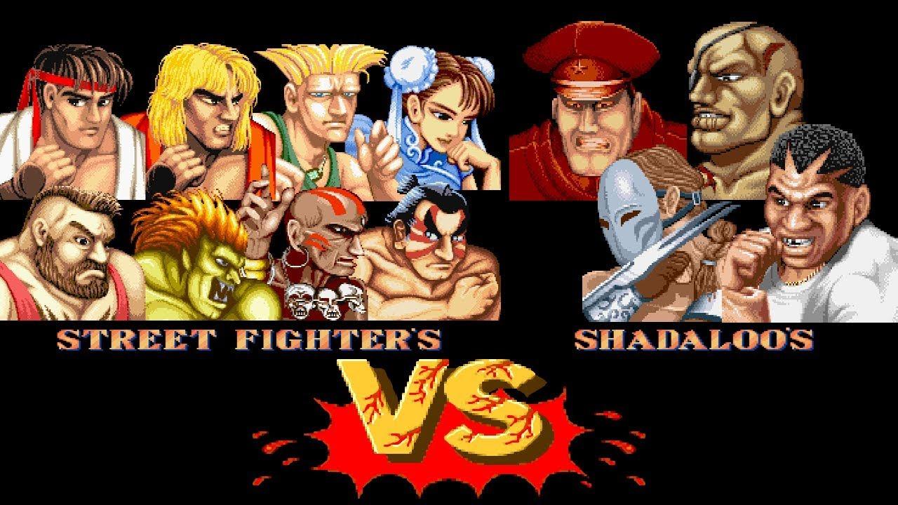 シャドルー 四天王 対 ストリートファイターズ Street Fighters VS Shadaloos