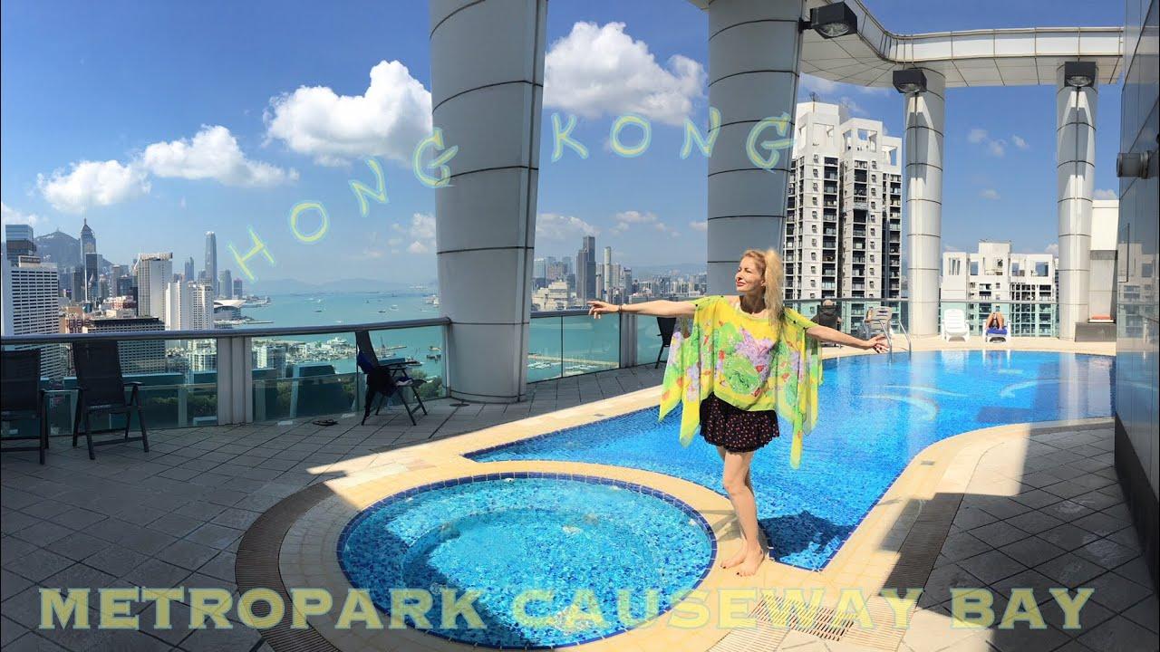Adeyto Live Stunning Rooftop Pool Of Hong Kong Metropark Causeway Bay