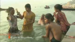 30 ans de pollutions du Gange
