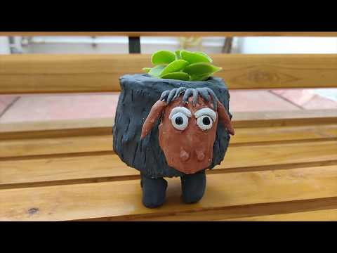 diy-planter-|-sheep-planter-|-plaster-of-paris-craft-|-plastic-bottle-craft-idea