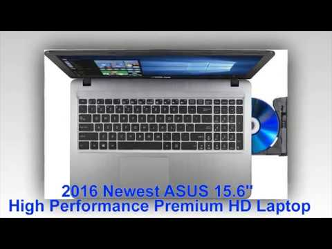 "Check 2016 Newest ASUS 15.6"" High Performance Premium HD Laptop (Intel Quad Core  2016"