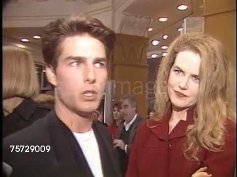 Tom Cruise at the 'A Few Good Men' Premiere