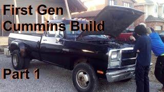 Video First Gen Dodge Cummins Build: Part 1 (Rust Repair) download MP3, 3GP, MP4, WEBM, AVI, FLV Juli 2018