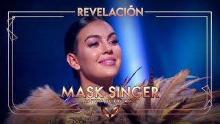 Georgina Rodríguez, desenmascarada como el León | Mask Singer: Adivina quién canta