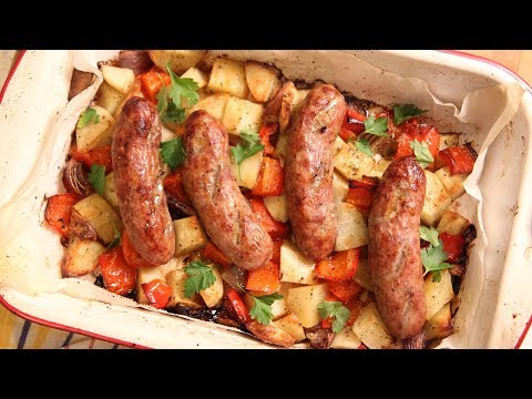 sausage-peppers-onions-amp-potato-bake-laura-in-the-kitchen-ep-185