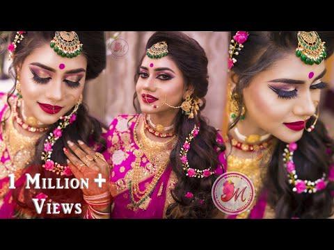 Best Makeup Tutorial for Indian Reception Bride    STEP-BY-STEP    Mayuri Sinha Sarkar