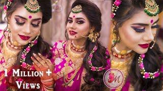 Best Makeup Tutorial for Indian Reception Bride || STEP-BY-STEP || Mayuri Sinha Sarkar