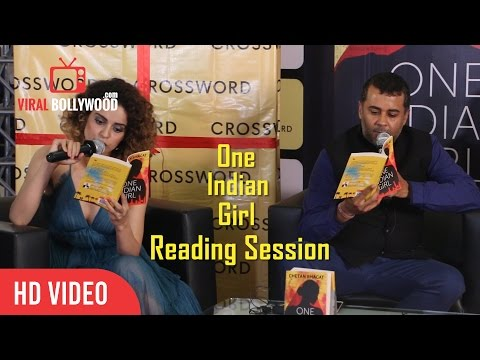 One Indian Girl Book | Reading Session | Kangana Ranaut And Chetan Bhagat
