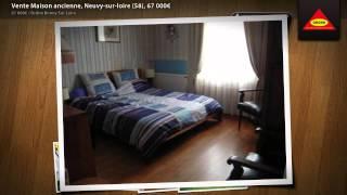 Vente Maison ancienne, Neuvy-sur-loire (58), 67 000€