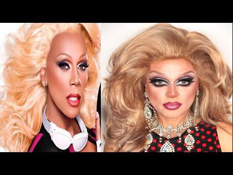 Perruque fait maison ( DIY: homemade drag queen wig ) tutorial Rupaul