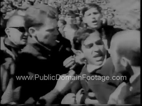 1967 Vietnam War protests in New York City and San Francisco - newsreel and archival footage