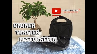 Sandwich Toaster Restoration / Broken Toaster Restoration