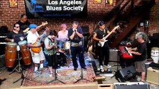 Los Angeles Blues Society Open Jam T Boyles8  08-24-2014