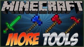 Como instalar: More Tools Mod Para Minecraft 1.7.2 / 1.7.10