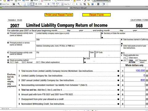 california llc tax trick youtube