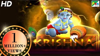 Krishna Animated Movie With English Subtitles | HD 1080p | Animated Movies For Kids In Hindi