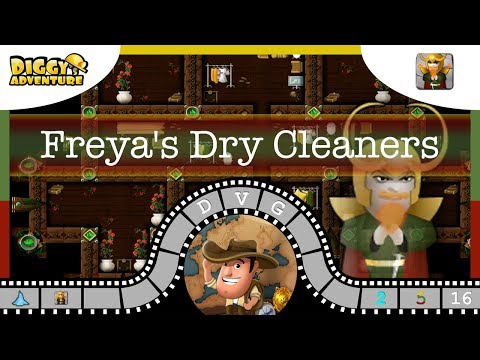 [~Loki~] #16 Freya's Dry Cleaners - Diggy's Adventure
