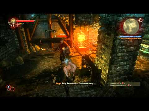Let's Play The Witcher 2 - Part 10: Stealth...not my forte