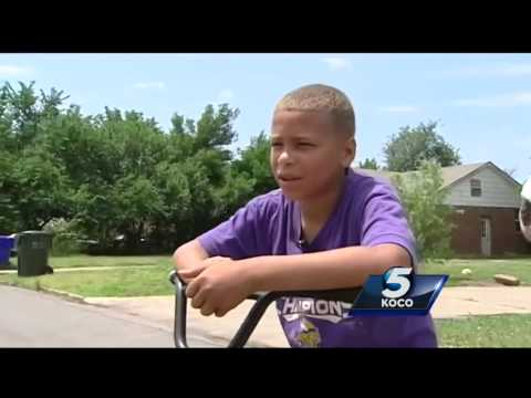 Norman Boy Saves Sister From Abductor
