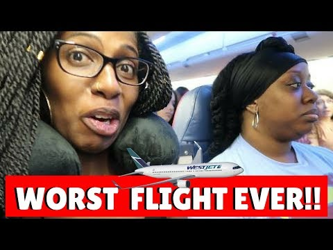 TRAVEL WITH ME TO TORONTO CARIBANA 2017 | Don't Fly WestJet Airlines | Stuck at Airport | PART 1