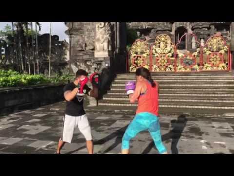 Boxing in Bali with Padli