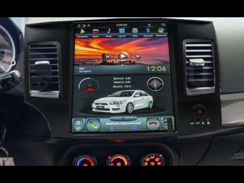 Штатная магнитола в стиле Tesla Mitsubishi Lancer (2007-2017) Android CF-3192