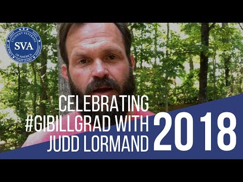Celebrate GIBillGrad with Judd Lormand star of SEAL Team on CBS
