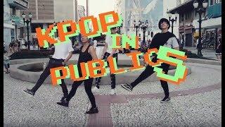 DANCING KPOP IN PUBLIC CHALLENGE #5 (BTS, EXO, ATEEZ, BLACKPINK +)