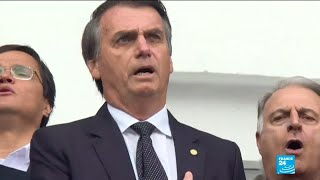 Brazil presidential election: new poll shows rising support for Bolsonaro