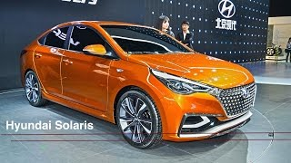 Hyundai Solaris 2017 хендай сллярис Новый класс смотреть